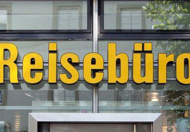 Reisebürosterben in Deutschland.