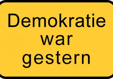 Grundrechte mit Füßen getreten – Frau Schwesig und der Landrat Herr Sternberg und ihre Schergen